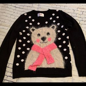 Justice Bear Sweater - size 12